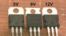Voltage regulator USB charger