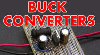 Switch mode power supply buck converter