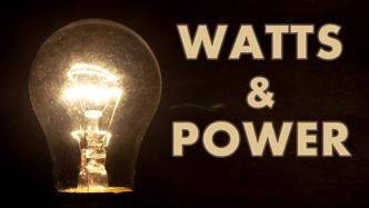 Power watts