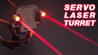 Arduino servo laser turret